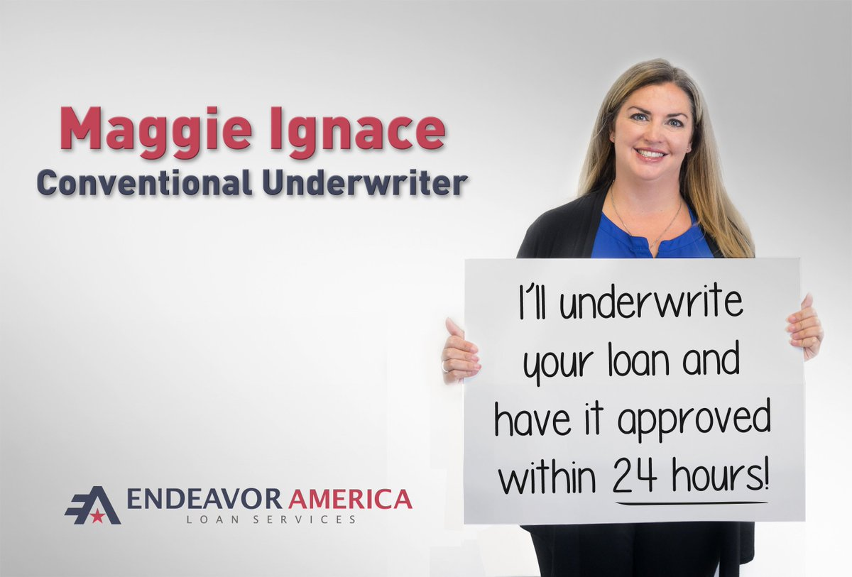 test Twitter Media - Our team at Endeavor America is made of great people who help our customers every day, and it's nice to put a face to the name. Meet Maggie Ignace who is a Conventional Underwriter. https://t.co/OTq0LK9FIH