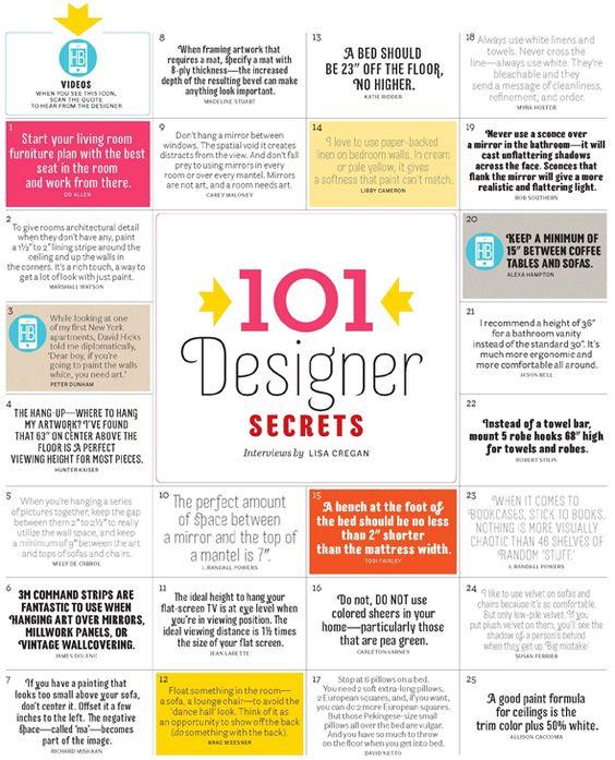 When in doubt ask an expert. 101 decorating secrets:  https:// goo.gl/Nr4vrY  &nbsp;   #tips #interiordesign <br>http://pic.twitter.com/xX92V8Ccqp