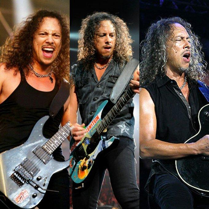 Happy Birthday Kirk Hammett!!  ( )
