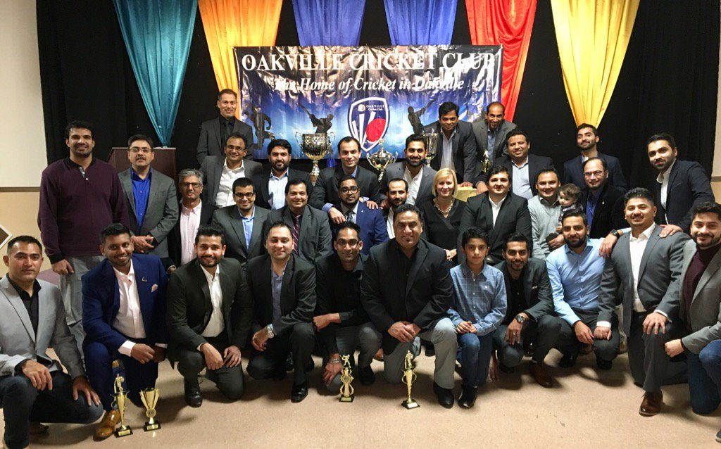 Fantastic Awards evening with #Oakville Cricket Club! See you next year gentlemen on the #cricket pitch in Ward6.