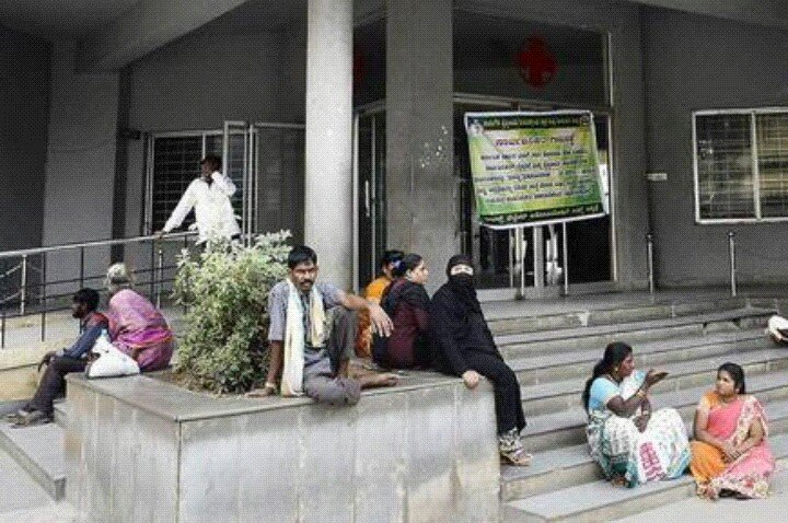 A #Day of #OPD closure in #private #Hospital leaves #patients stressed. #OPDs  in #Government  see at #least 20% more patients than usual <br>http://pic.twitter.com/4grDjS1J8m