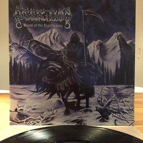 DISSECTION  &quot;Storm Of The Light Bane&quot;  Release date November 17th, 1995  Hail Jon Nödtveidt  Classic Black Metal  #EarlyYears #BlackMetal #Vinyl #Sweden #90s <br>http://pic.twitter.com/1FkwbGxi7t