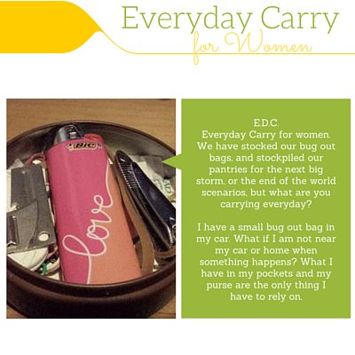 What do you carry in your purse that will be helpful in an emergency?  http:// homesteadwishing.com/edcwomen/  &nbsp;   #moms #preppers #homesteading #survival<br>http://pic.twitter.com/uBS3f1juJv