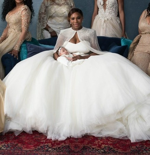 Serena Williams married in a BEAUTY & THE BEAST Themed Wedding ...