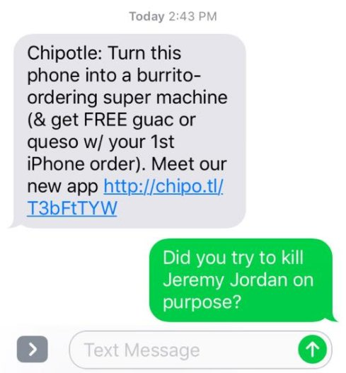 Got my eye on you, Chipotle. Looking out...