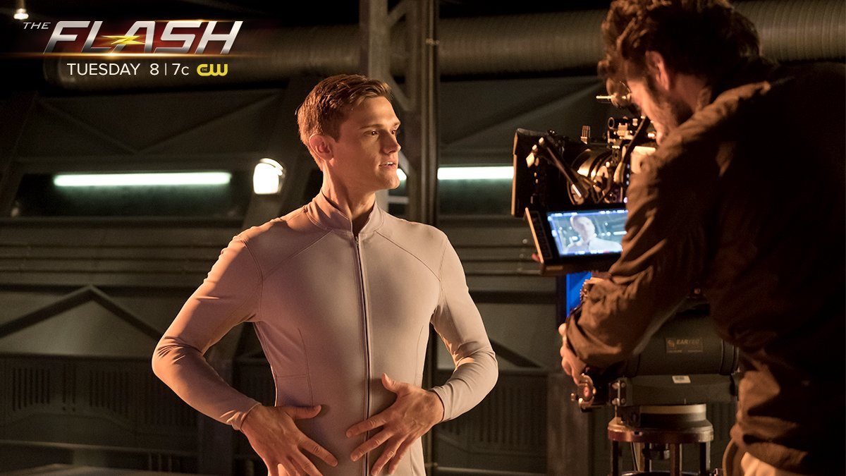 The Flash on Twitter: