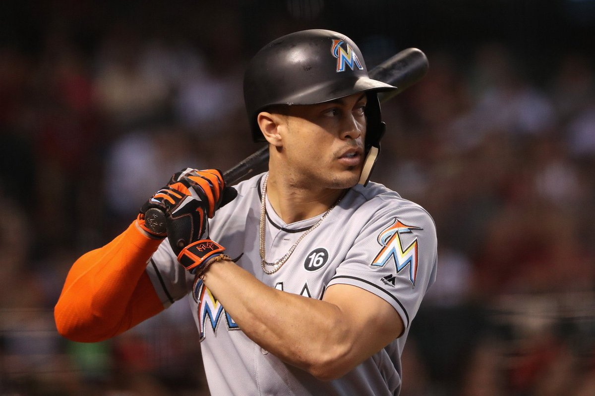Report: The Miami #Marlins are already fielding trade proposals for National League MVP Giancarlo Stanton. The San Francisco #Giants are the one known team to send a proposal to Miami. St. Louis #Cardinals and Boston #RedSox are expected to follow suit.<br>http://pic.twitter.com/v8e1gfvzzl