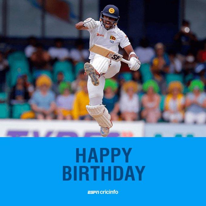 Happy birthday to Sri Lanka Test captain Dinesh Chandimal!