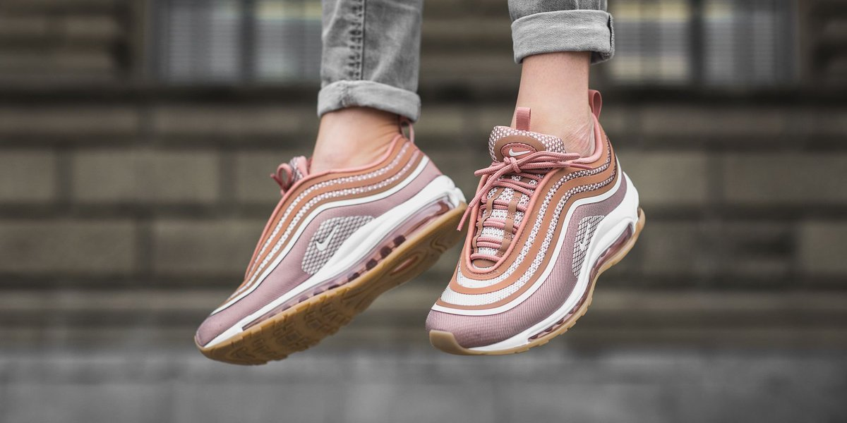 Nike Women's Air Max 97 Ultra '17 Rose/White/Gum 鈥  Culture Kings