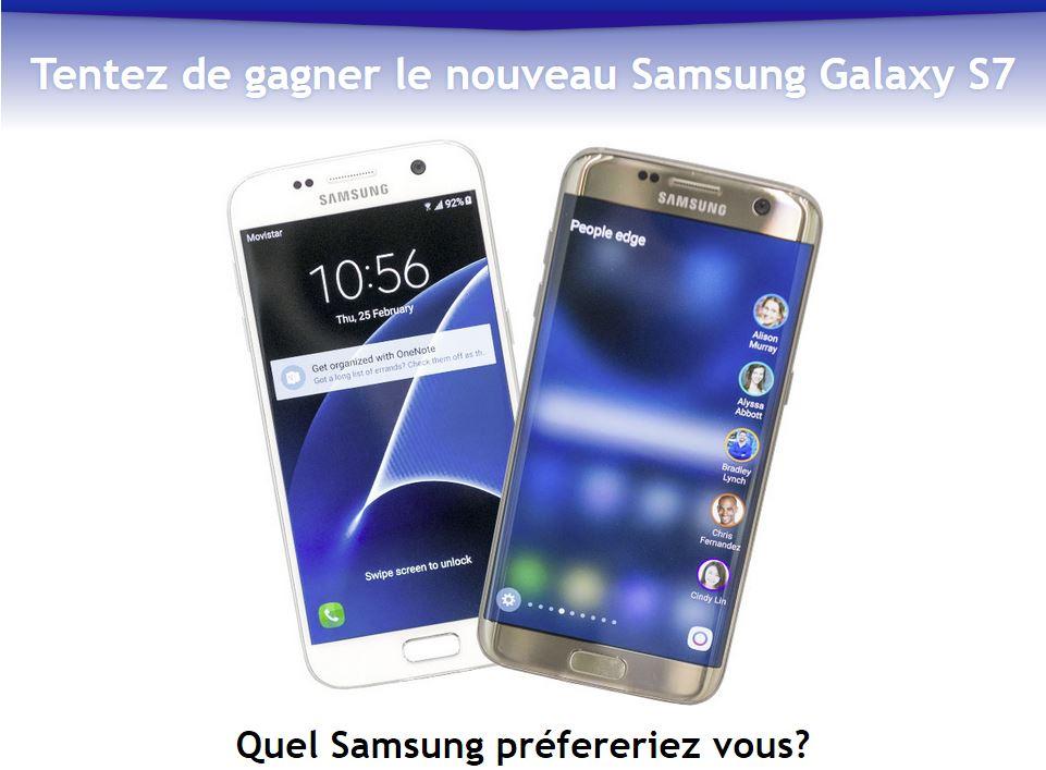 #Concours:   Tentez de gagnez un Samsung Galaxy S7          #Jeux #RT + follow   @gainspourtous   http:// gainspourtous.com/tentez-de-gagn ez-un-samsung-galaxy-s7/  … pic.twitter.com/xdYSPeYwIr