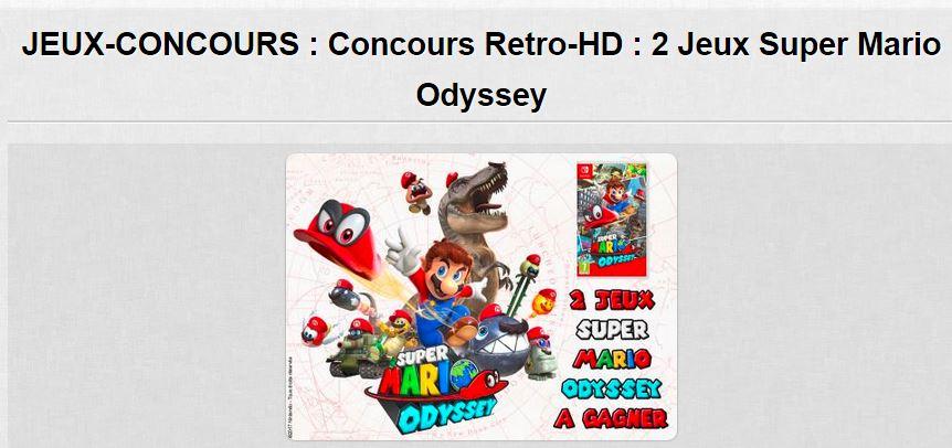 #Concours: 2 Jeux Super Mario Odyssey à gagner !!!        #Jeux #RT + follow @gainspourtous   http:// gainspourtous.com/2-jeux-super-m ario-odyssey/  … pic.twitter.com/nqTAteu4nf