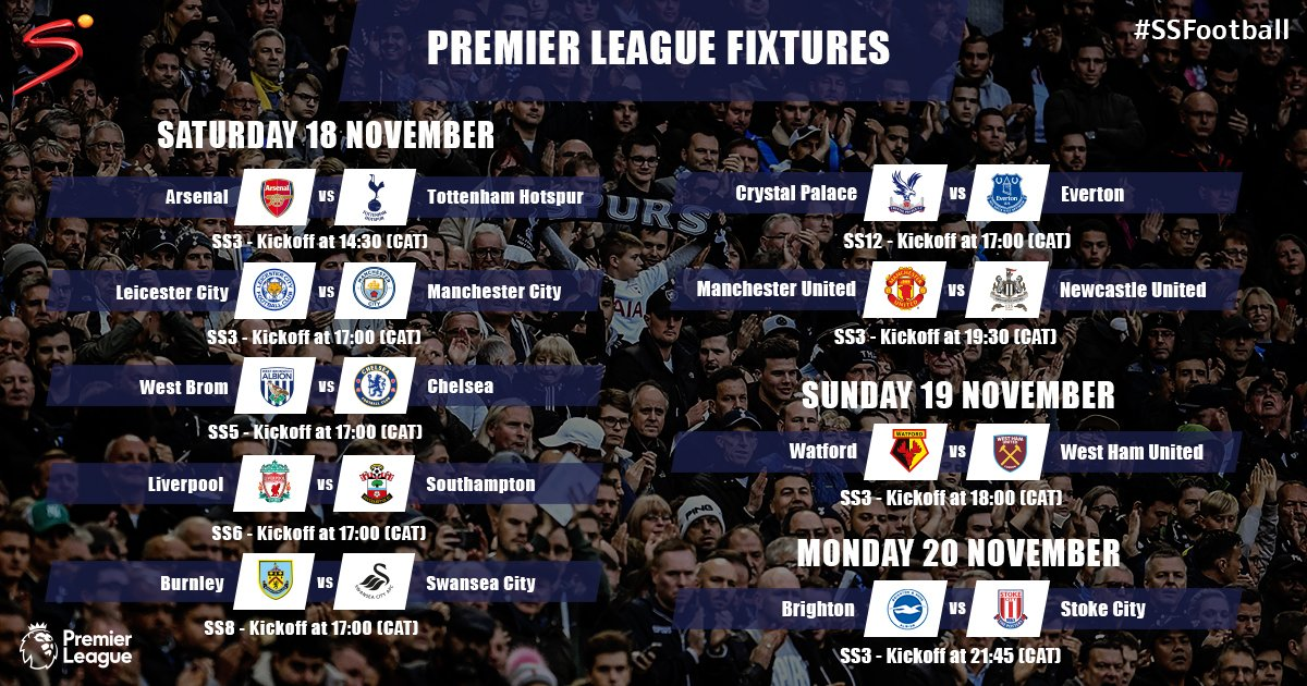 After the last international break of the year, seven weeks of unbroken Premier League football coverage begins this weekend! #PL <br>http://pic.twitter.com/Kd8njycCdt
