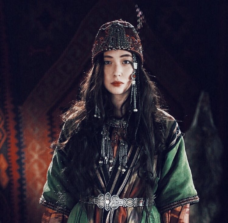Beautiful central asian women