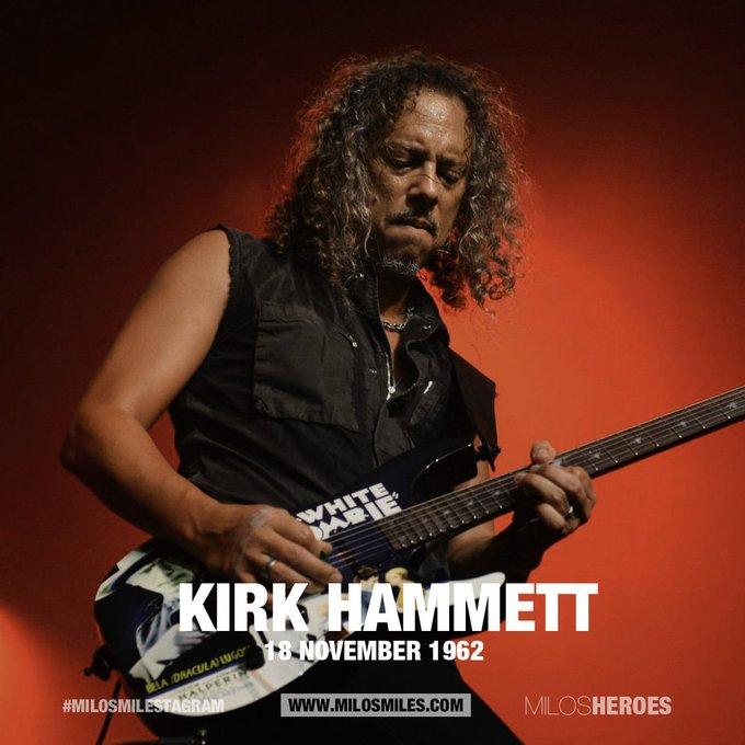 Happy Birthday Kirk Hammett - Metallica (181162)