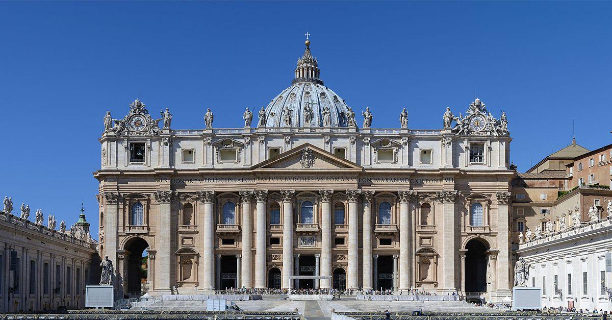 18 novembre 1626 Papa Urbano VIII inaugura a Roma la Basilica di San Pietro