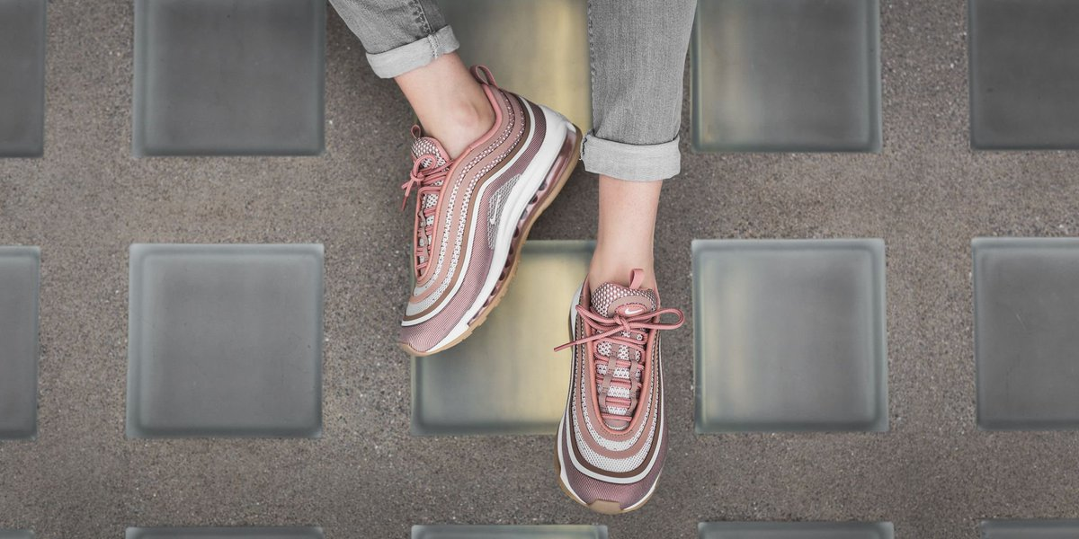 air max 97 metallic rose gold