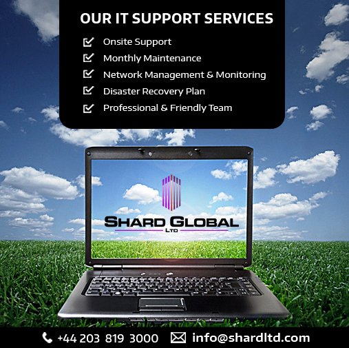 Shard Global Ltd implements innovative strategies to maximize the value of the #IT_Support function. Know more:  http://www. shardltd.com  &nbsp;  <br>http://pic.twitter.com/ypPNZvMVS2