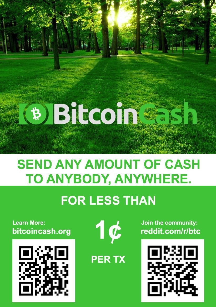 Send Bitcoin Cash for less than $0.01