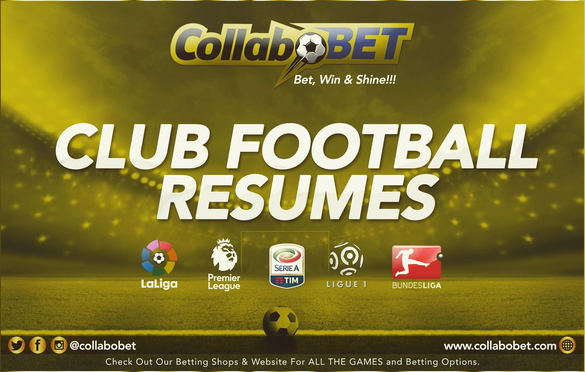 Who misses CLUB FOOTBALL like we do.   #epl #laliga #ligue1 #serieA #Bundesliga  #collabobet #betwinshine  #sports #betting  Follow @collabobet on social media and SignUp   http:// collabobet.com  &nbsp;   to place your bets and enjoy the #bestodds #FastestPayout and #highestbonus<br>http://pic.twitter.com/lVqkivwimo