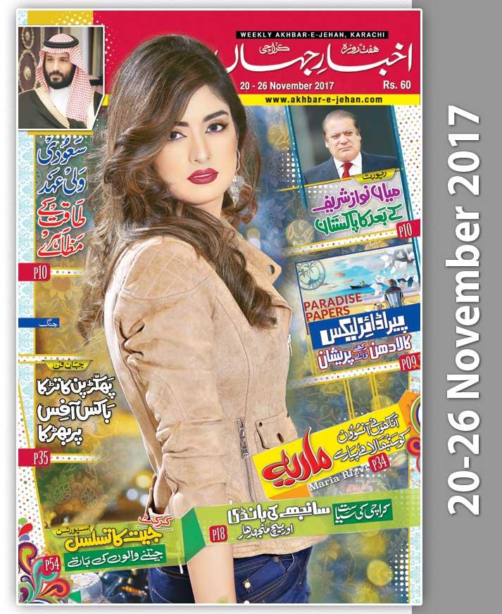 Akhbar e Jehan 2013-14 In Urdu Weekly - Epaper ; Daily 87