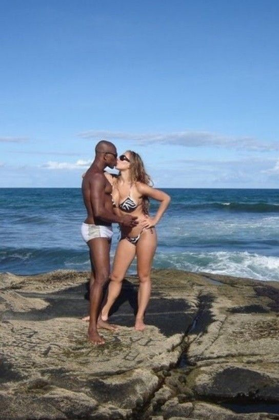 Interracial Vacation On Twitter -2613