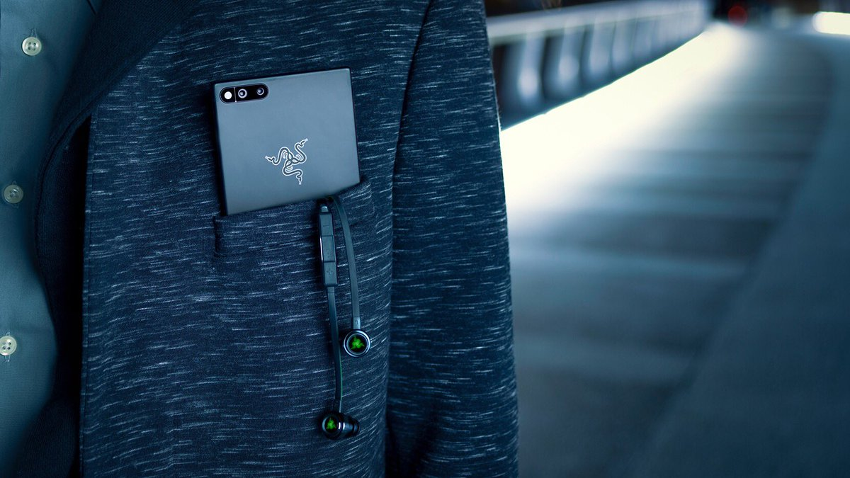 So maybe we almost called it the Razer Pwn...  ...yeah that's too much even for us. #RazerPhone