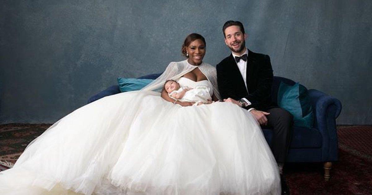 QUE FAMÍLIA! As imagens do casamento de Serena Williams são puro amor https://t.co/1xM9LkQvdM