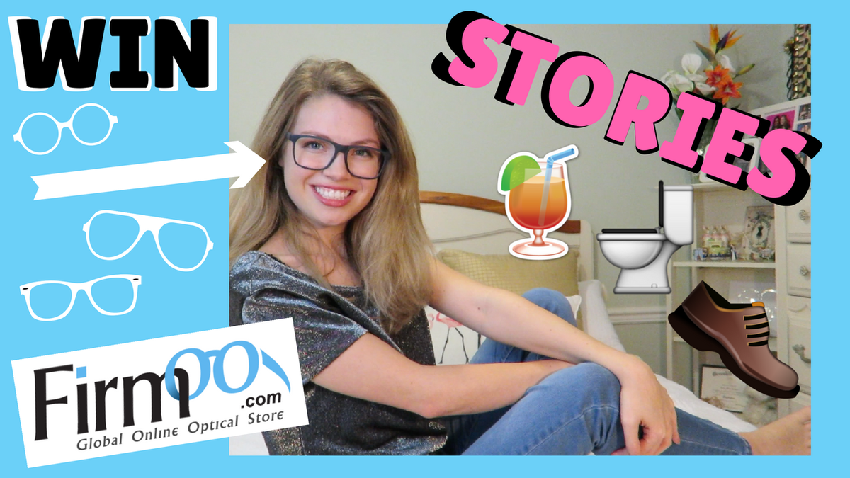 WATCH THESE MINI STORIES FOR A CHANCE TO #WIN @Firmoo FRAMES  &gt;&gt;  https:// youtu.be/RfGHh3oiTn0  &nbsp;    #youtube #newvideo #storytime #giveaway #contest #entertowin #saturdaymorning #weekend #firmoo #glasses  <br>http://pic.twitter.com/MGJe4b5IQm