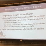 One way to connect #ALD patients, researchers, and #pharma companies: our industry advisory council. 6 companies are participating in our Patient Learning Academy!