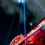 神戸大橋の特別演出照明を撮ってきました。これ絶対聖杯戦争してるなw pic.twitter.com/…
