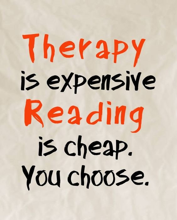 Reading is the BEST therapy...  #amwriting #amreading<br>http://pic.twitter.com/8ST7cYuccf