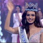RT @ANI: Miss India Manushi Chhillar crowned as #M...