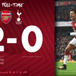 RT @Arsenal: So... How's your Saturday? 😉  #AFCvTH...