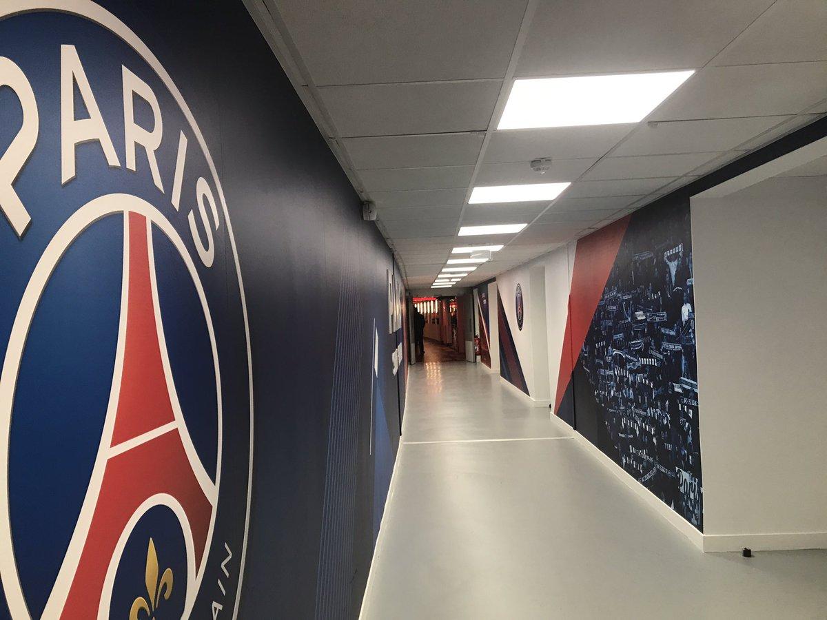 L'arrivée de nos joueurs au Parc des Princes sera à vivre en Facebook Live d'ici quelques minutes. #PSGFCN
