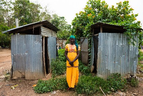 Tomorrow is #WorldToiletDaybut for women like Ladi who live in a camp for internally displaced people in Nigeria, it&#39;s another day without a #toilet. #OutOfOrder<br>http://pic.twitter.com/sJsVsXS745