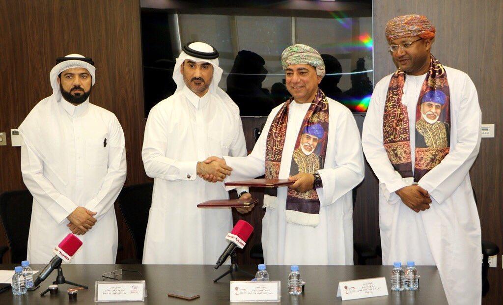 اتفاقية تعاون بين الاتحادين القطري والعُماني للسلة