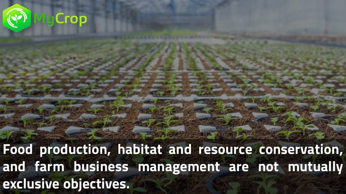 #Food #production, #habitat and #resource #conservation, and #farm #business #management are not mutually exclusive objectives.<br>http://pic.twitter.com/APEolITd0I