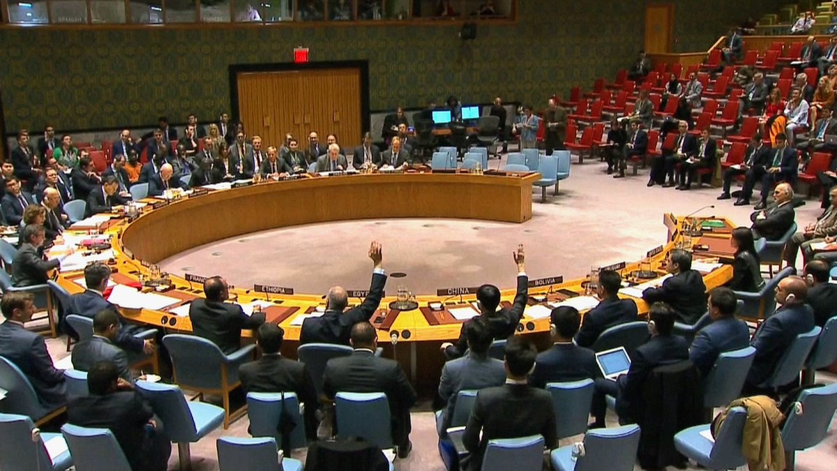 Russia Vetoes Security Council Resolution on Syrian Chemical Attacks https://t.co/sCaVHBLsUW