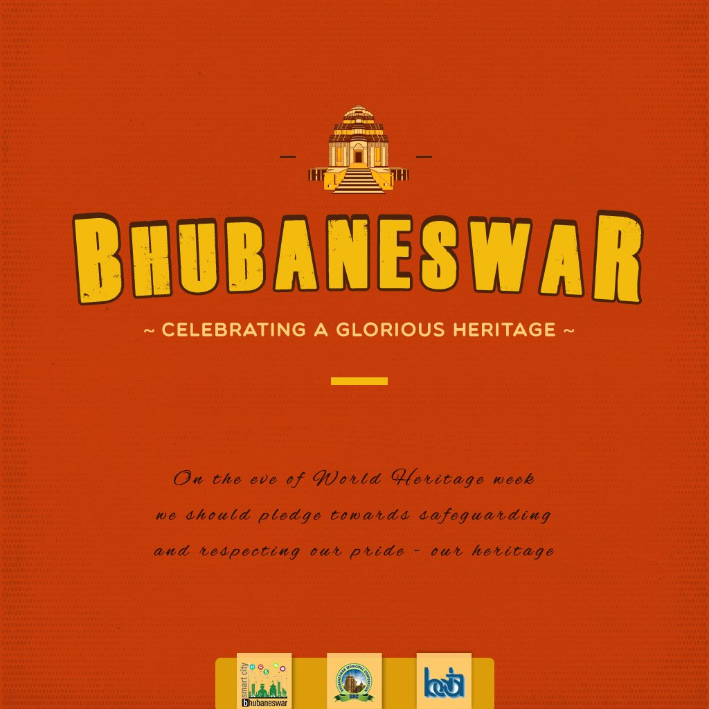 #Bhubaneswar has rich cultural #heritage spanning over 2000 years. Presently the city has over 360 temples &amp; monuments showcasing the Kalingan architecture. To create awareness on our rich culture some interesting facts will be shared during #WorldHeritageWeek from 19-25 Nov 2017<br>http://pic.twitter.com/LvFtV1T0hk