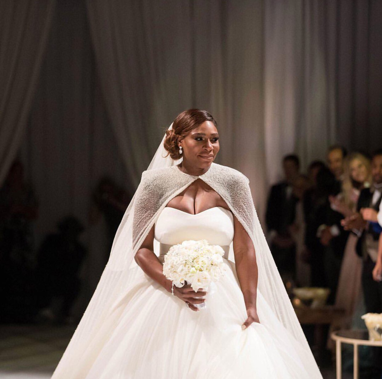 Serena Williams' wedding to Alexis Ohanian in New Orleans yesterday �� https://t.co/SoZCSvdk4J