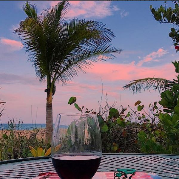 Take a sip of the #sunset in #JupiterFl....