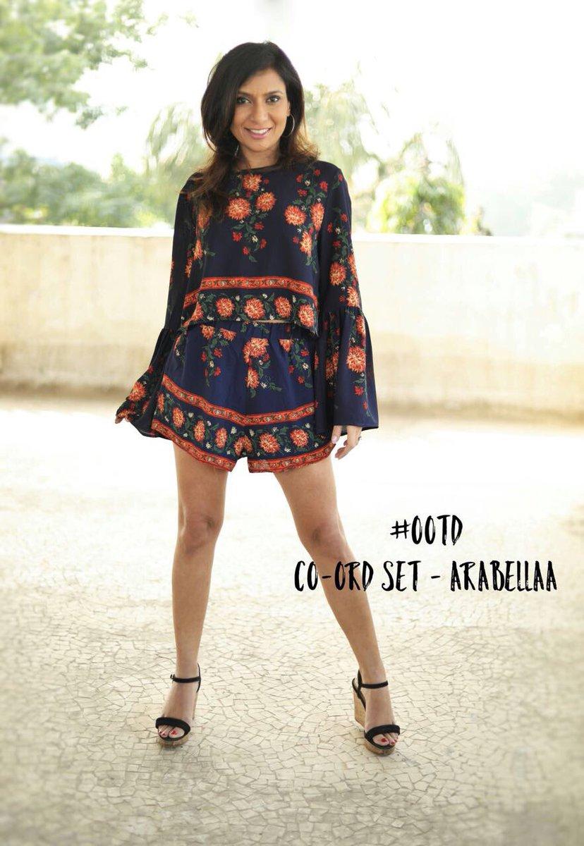 #ootn co-ord set @ShopArabellaa styled @nellywadia assisted @YeanshaL H&M  team  📷@eshwarlog @eltonjfernandez#udayjoshii
