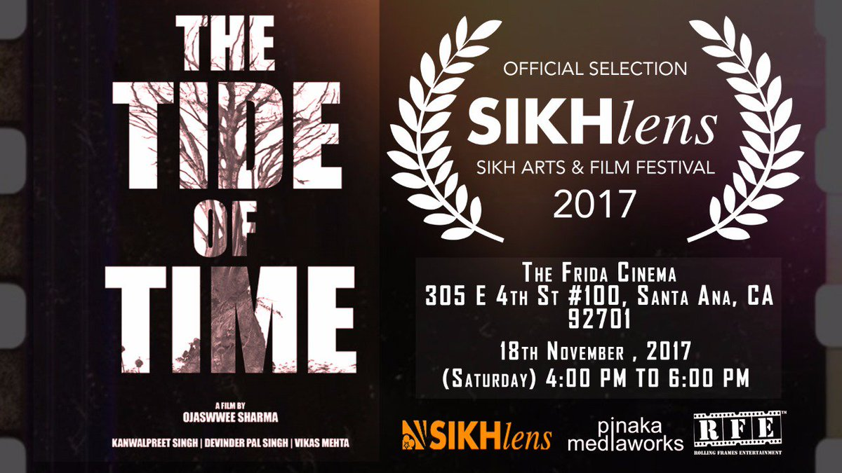 #TheTideOfTime based on #relationships to play at the @SikhLens @california @TheFridaCinema  on Saturday 18th November 2017 Short Films Segment-1  4pm to 6pm  #shortfilm #shortstories #film #filmfestival #indianfilm #asianfilm #asian #punjabi #indian<br>http://pic.twitter.com/rrCPRHLtRi