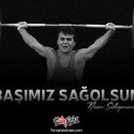 RT @forzabesiktas: Hoşça kal Naim Süleymanoğlu hoş...