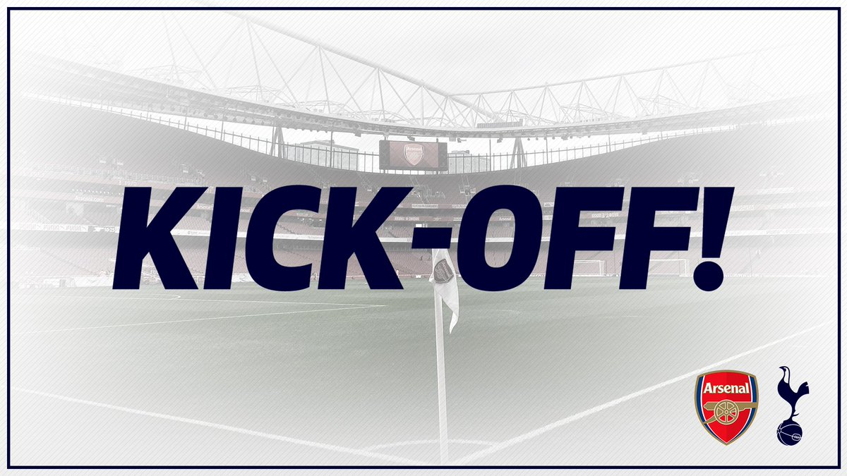 COME ON YOU SPURS!   🔴 #AFC 0-0 #THFC ⚪️