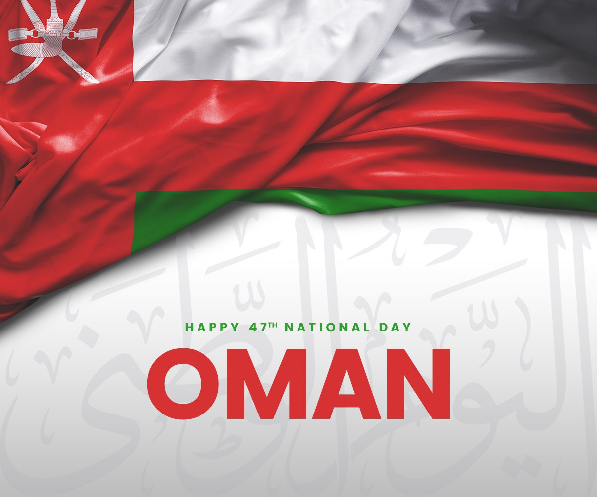 #SwissArabian wishes everyone a very Happy 47th #National_day of #Oman. https://t.co/w7VfuvsUnY