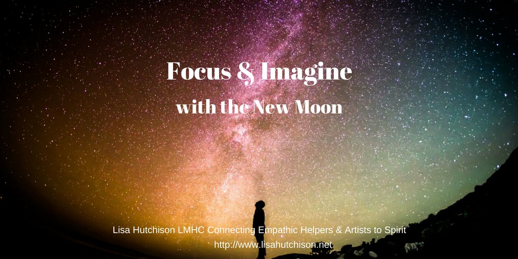 &quot;The new moon is an optimal time to write out new goals and intentions. Dream big! &quot;-Lisa Hutchison LMHC #newmoon #manifestation <br>http://pic.twitter.com/VvKdTdvzer