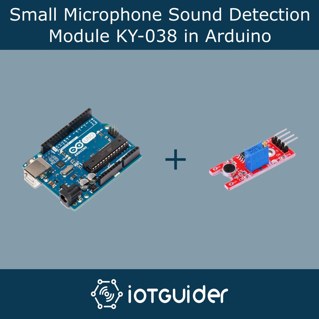 Small Microphone Sound Detection Module KY-038 in Arduino  http:// bit.ly/2jzlwPv  &nbsp;    #Iotguider #IoT #Guide #Small #Microphone #Sound #Detection #Module #KY_038 #LED #Sensor #Arduino #Uno #Basics #Features #Hardware #Information #Learn #InternetOfThings #Learning #New #Interfacing<br>http://pic.twitter.com/uVQq1mZaj6