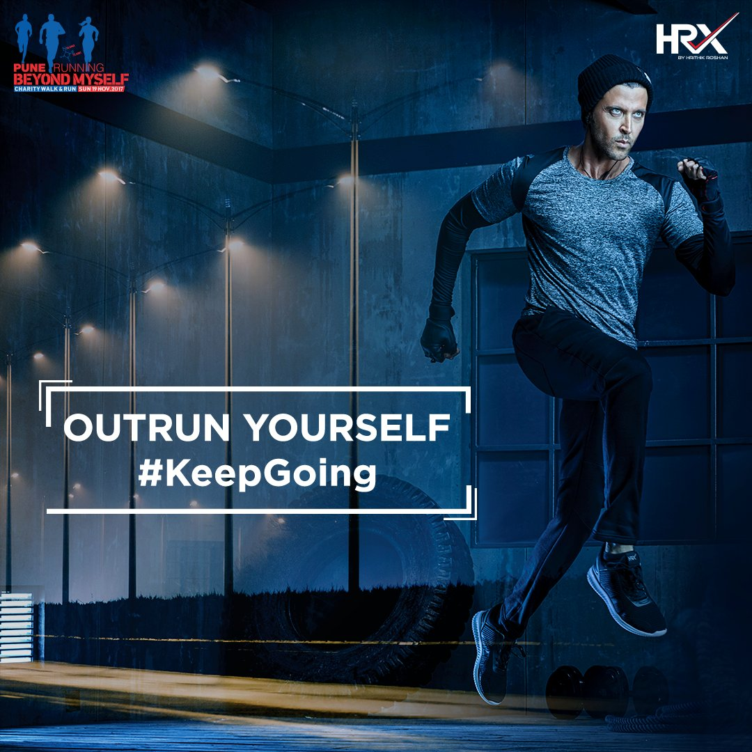 RT @hrxbrand: Forget the miles, remember the glory! PUNE #KeepRunning #KeepGoing! #HRX @PuneRunning https://t.co/Xr5zmyZgwy