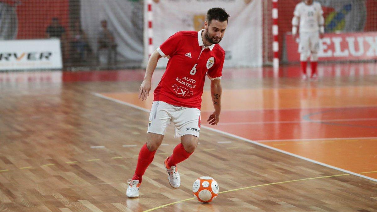Tiago Brito, ala do Benfica, em antevisão ao jogo com o Modicus 'Temos qualidade para as dificuldades que vamos encontrar!' ℹ️ https://t.co/iUw2JDpleE